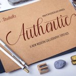 Authentic Calligraphy Font