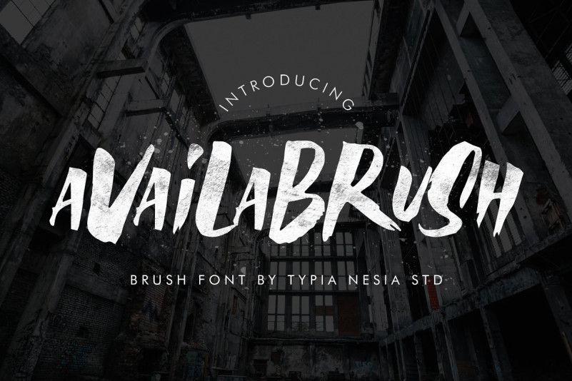 Availa Brush Font