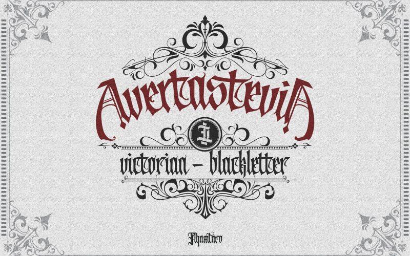 Avertastevia Gothic Font - Dafont Free