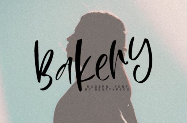 Bakery Calligraphy Font