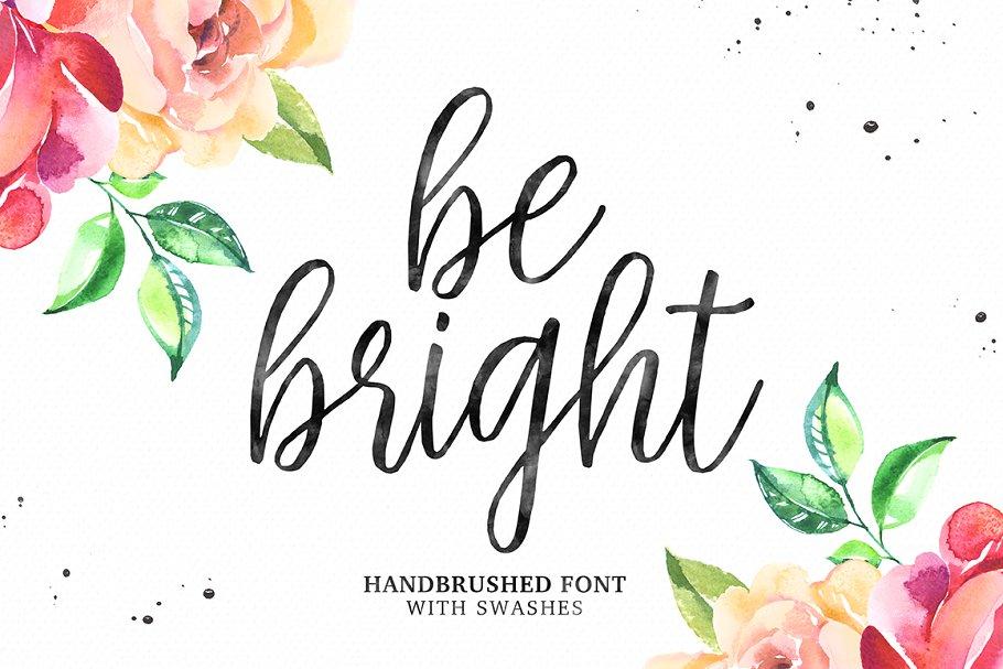 Be Bright Script Font