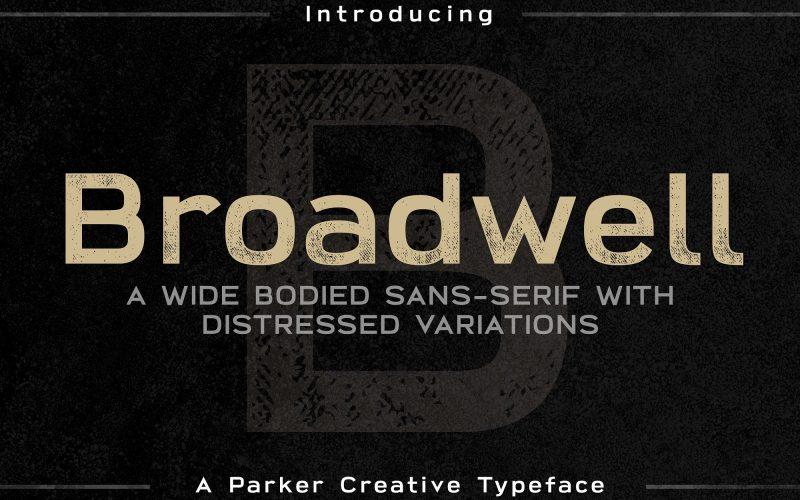 Broadwell Typeface