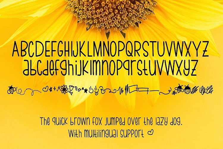 Bumblebee Thin Script Font-3