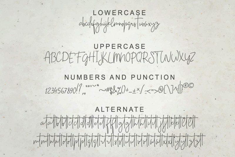 Casttano Handwritten Font-4