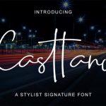 Casttano Handwritten Font
