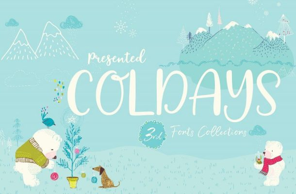 Coldays Memories Font Family