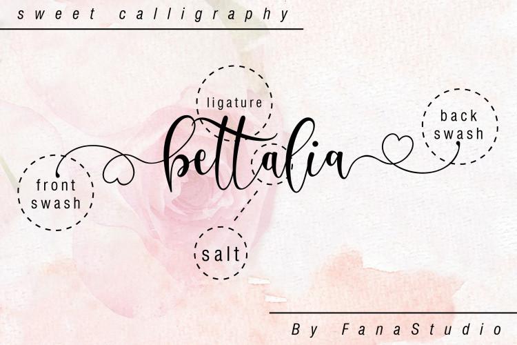 Delisha Script Font-3