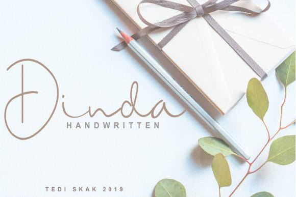Dinda Handwritten Font