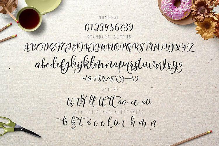Flitte Script Font-3