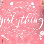 Girly Things Brush Font