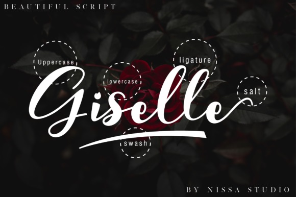 Giselle Calligraphy Font-3