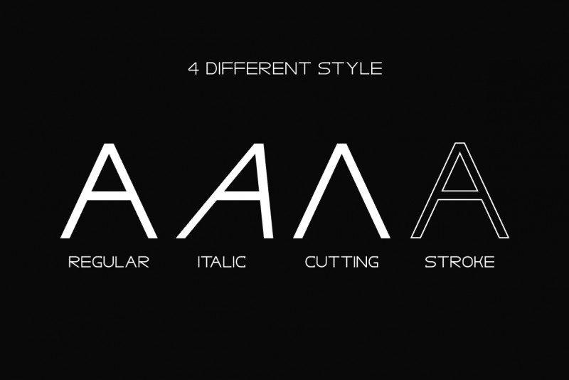 Gracetians Typeface-2