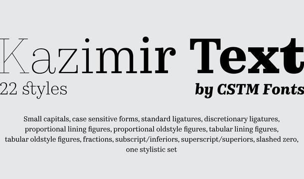 250+ Best Free Serif Fonts of 2019 - Dafont Free
