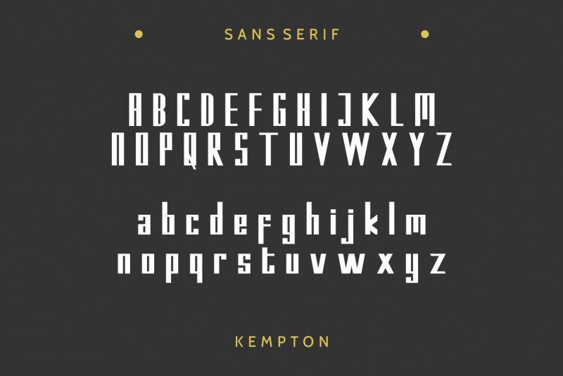 Kempton Typeface-2