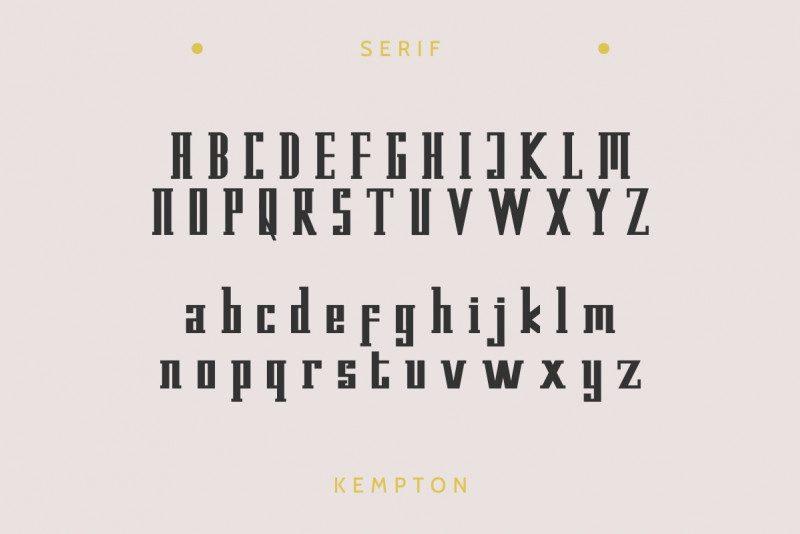 Kempton Typeface-3