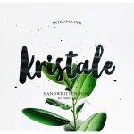 Kristale Brush Font