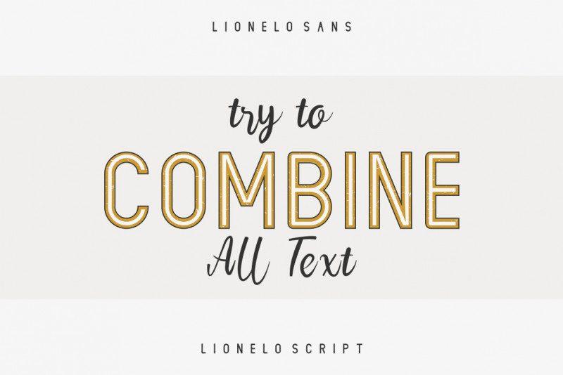 LIONELLO Special Font-4