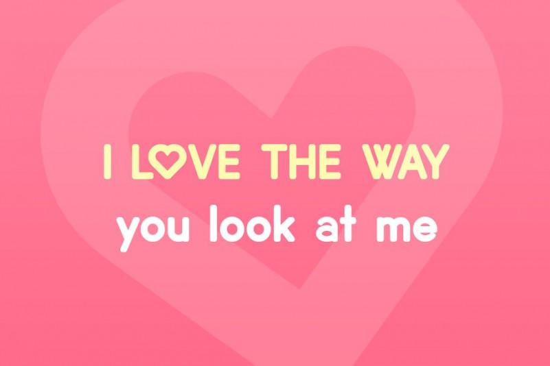 Lovebirds Sans Font-2