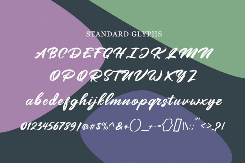 Mangotea Script Font-3