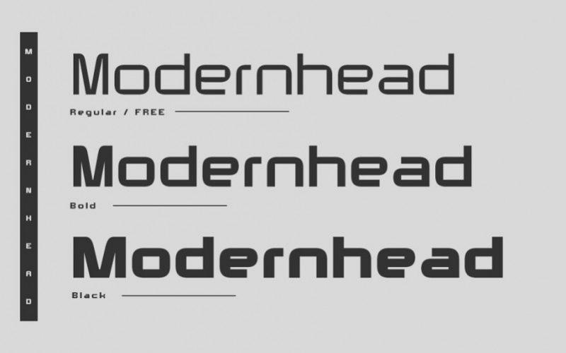 Modernhead Sans Serif Font-2