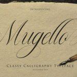 Mugello Calligraphy Font