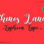 Rhinos Land Calligraphy Font