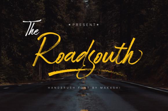 Roadsouth Brush Font