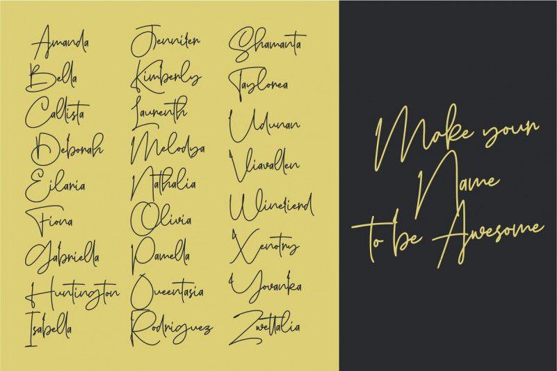 Sanpaullo Signature Font-3