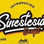 Sinestesia Script Font