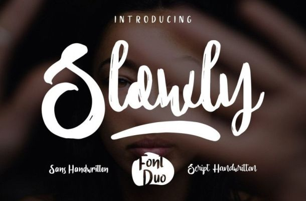 Slowly Font Duo