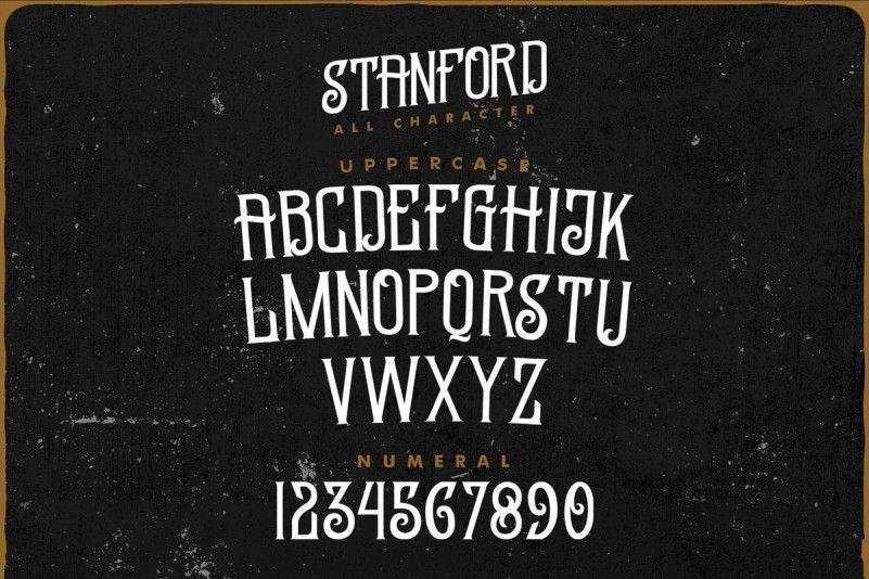Standford Vintage Font-4