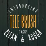 Tele Brush Typeface
