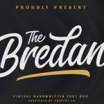 The Bredan Script Font