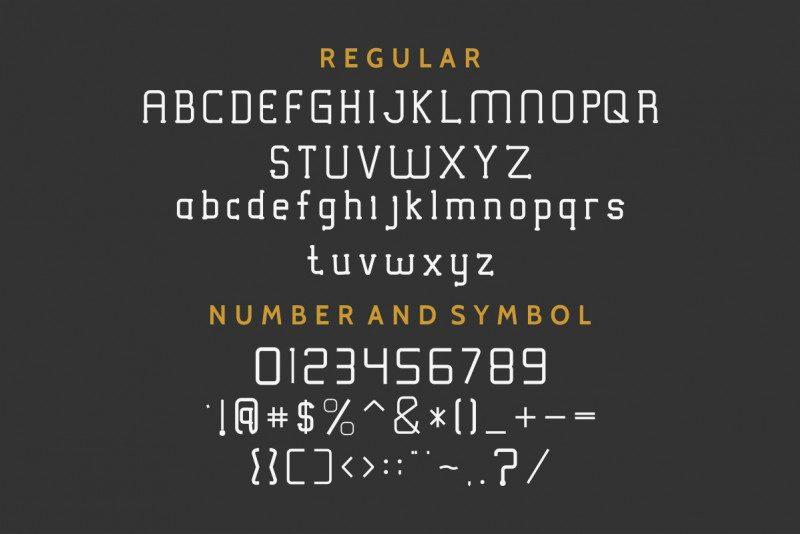 Victorisa Typeface-4