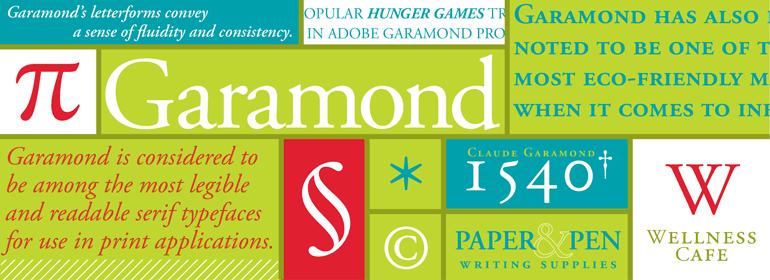 Adobe Garamond Font Family-2