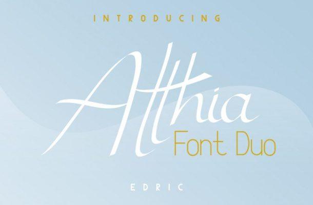 Atthia Font Duo