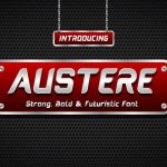 Austere Display Font