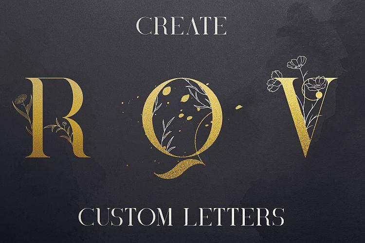 Black Gold Serif Font-3