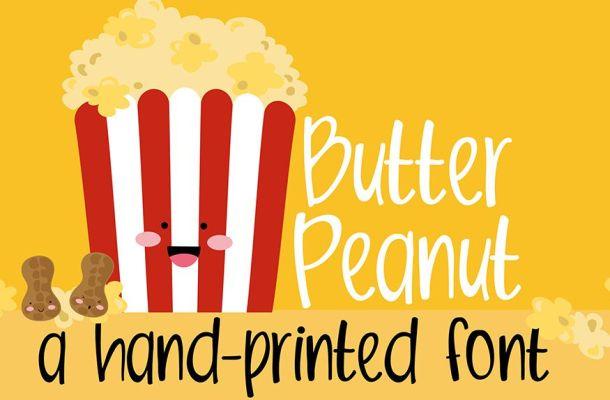 Butter Peanut Font