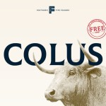 Colus Display Font