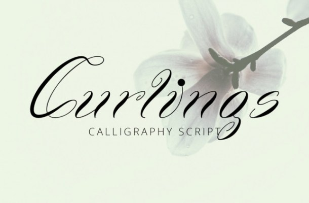 Curlings Calligraphy Font