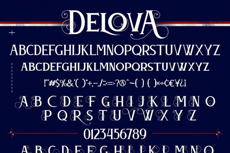 Delova Typeface-3
