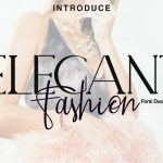 Elegant Fashion Font Duo