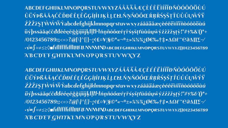 Gamine Typeface-3