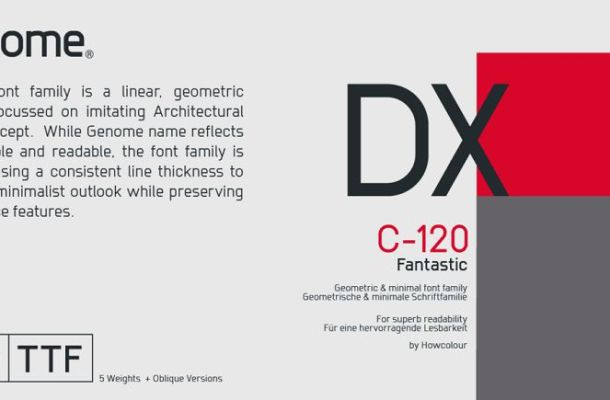 Genome Font Family