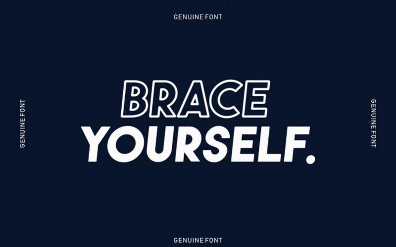 Genuine Sans Font-3