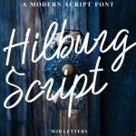 Hilburg Script Font