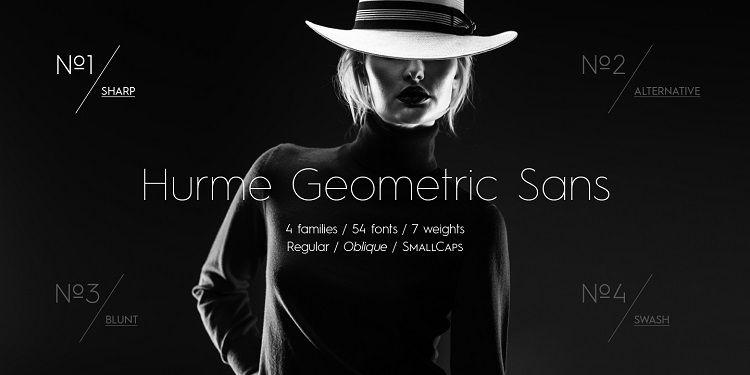 Hurme Geometric Sans Font