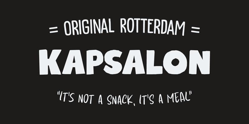 Kapsalon Typeface