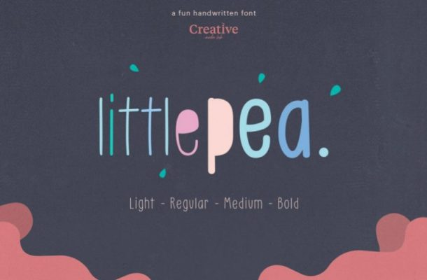 Little Pea Handwritten Font